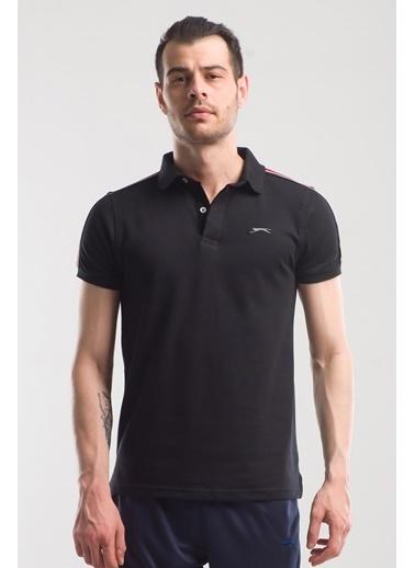 Slazenger Slazenger PANCO Erkek T-Shirt  Siyah